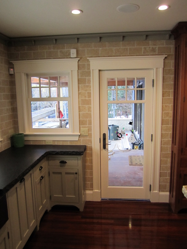 Kitchen Porch Entry