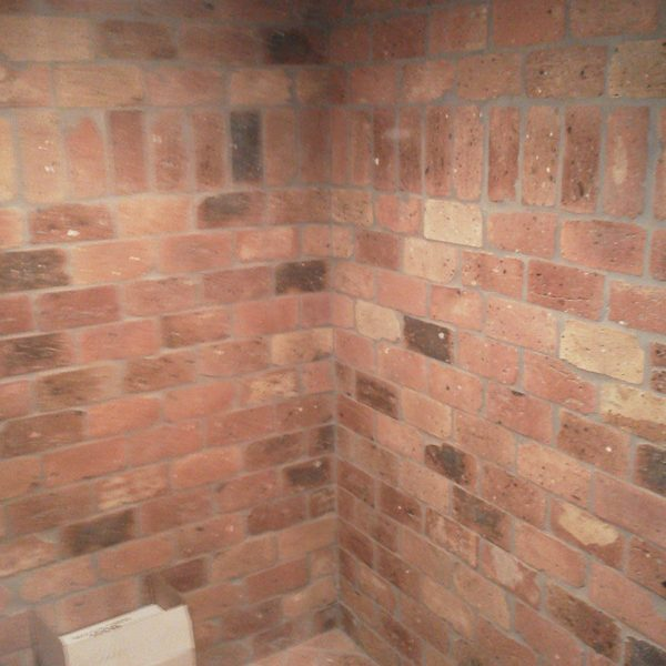 Walk In Room – Brick Interior detail