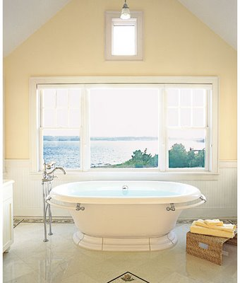 Master bath tile and tub