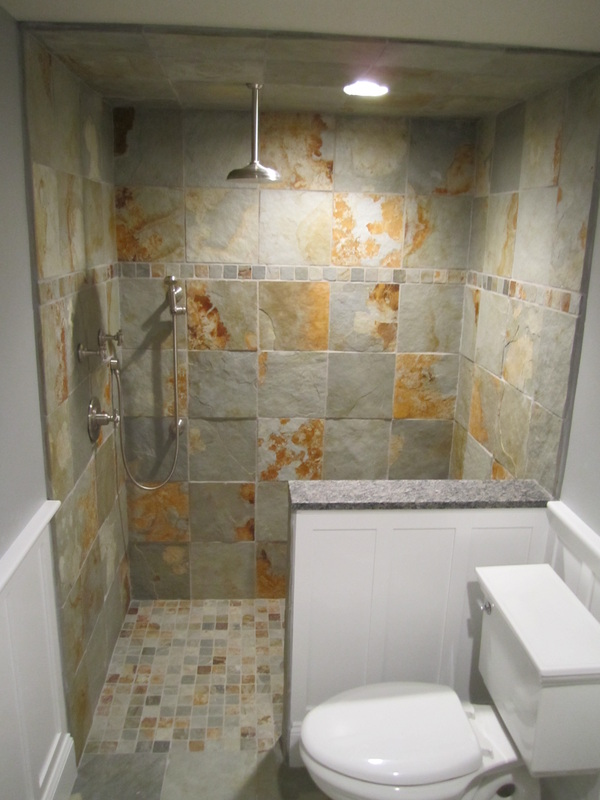 Large Tile Shower
