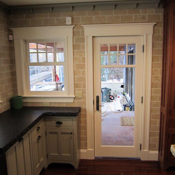 Kitchen Porch Entry
