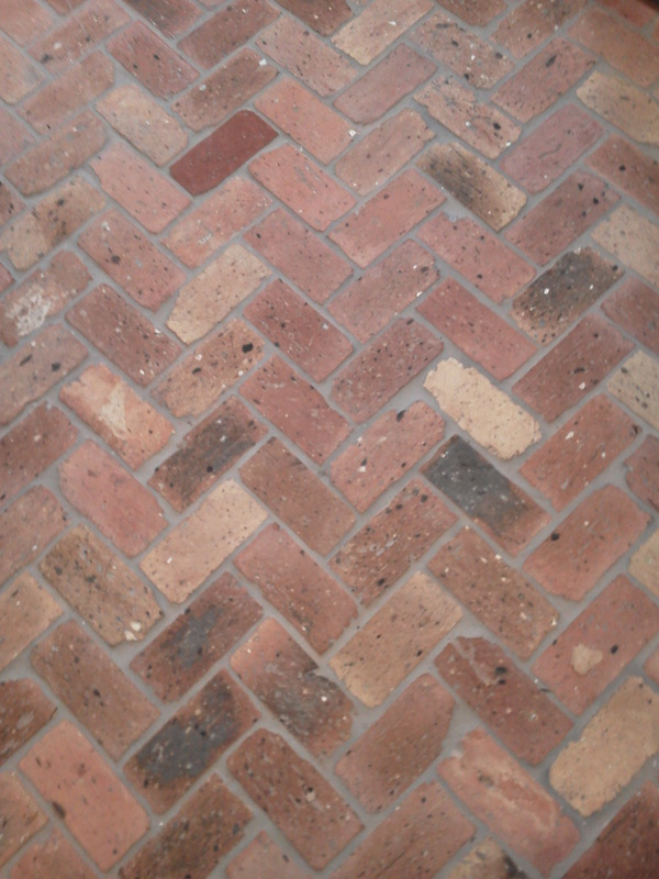 Close up of brick