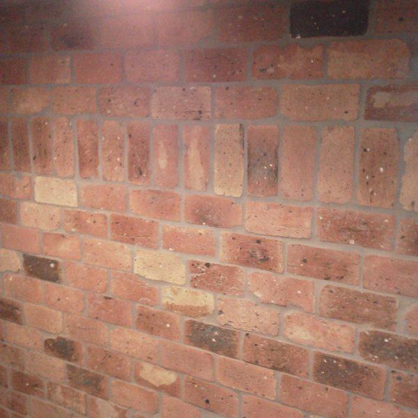 Walk In Room – Brick Interior